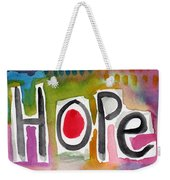 Hope- Colorful Abstract Painting Weekender Tote Bag