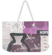 Hope- Contemporary Art Weekender Tote Bag
