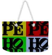 Hope In Quad Colors Weekender Tote Bag