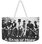 Hopeful Fishermen Weekender Tote Bag