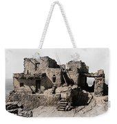 Hopi Hilltop Indian Dwelling 1920 Weekender Tote Bag