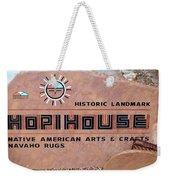 Hopihouse Sign Weekender Tote Bag