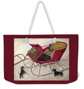 Hoping For A Sleigh Ride Weekender Tote Bag