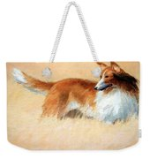 Hopper's Cape Cod Evening -- The Dog Weekender Tote Bag