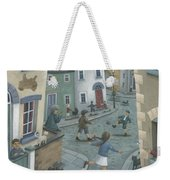 Hopscotch Down The Hill Weekender Tote Bag