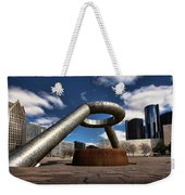 Horace Dodge Fountain Hart Plaza Detroit Michigan  Weekender Tote Bag