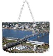 Horace Wilkinson Bridge Weekender Tote Bag