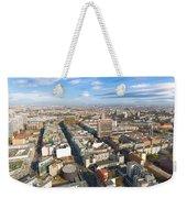Horizontal Aerial View Of Berlin Weekender Tote Bag