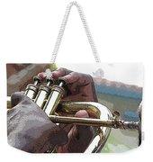 Horn Player 0072 Weekender Tote Bag