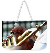 Horn Player Pk 0071 Weekender Tote Bag