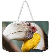 Hornbill Bird Portrait Closeup Weekender Tote Bag