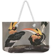 Hornbills Weekender Tote Bag