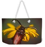 Horned Beetle Weekender Tote Bag