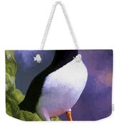 Horned Puffin Weekender Tote Bag