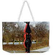 Horninglow Linear Park Signpost Weekender Tote Bag
