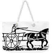 Horse & Cart, 19th Century Weekender Tote Bag