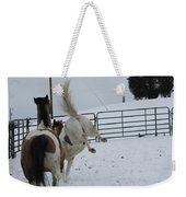 Horse 13 Weekender Tote Bag