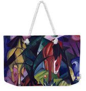Horse And Eagle Weekender Tote Bag