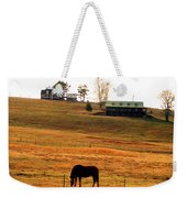 Horse And Farm By Jan Marvin Weekender Tote Bag