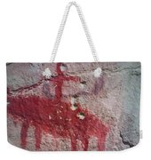 Horse And Rider Cave Painting Weekender Tote Bag