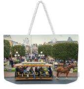 Horse And Trolley Main Street Disneyland 02 Weekender Tote Bag
