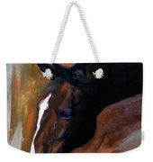 horse - Apple copper Weekender Tote Bag