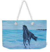 Horse At The Sea Weekender Tote Bag