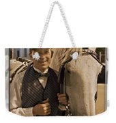 Horse Carriage Driver 3 Weekender Tote Bag