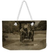 Horse Carriage Tour Weekender Tote Bag