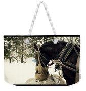 Horse Cinema Style Weekender Tote Bag