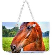 Horse Closeup Weekender Tote Bag