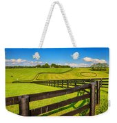 Horse Farm Fences Weekender Tote Bag