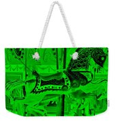 Green Horse E Weekender Tote Bag