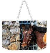 Horse Head Weekender Tote Bag