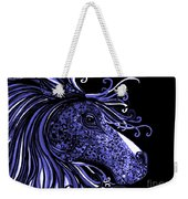 Horse Head Blues Weekender Tote Bag
