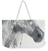 Horse Head Drawing Weekender Tote Bag