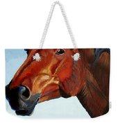 Horse Head Weekender Tote Bag