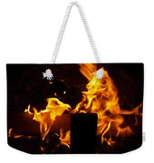 Horse In The Fire Weekender Tote Bag