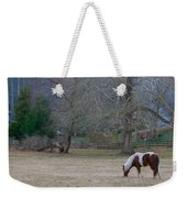 Horse In The Mist Weekender Tote Bag