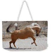 Horse Jumping Weekender Tote Bag