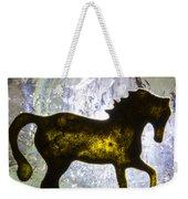Horse On A Quartz Crystal Weekender Tote Bag