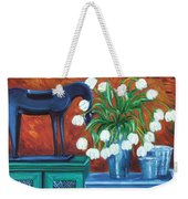 Horse On The Cupboard Weekender Tote Bag