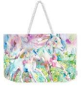 Horse Painting.17 Weekender Tote Bag