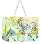 Horse Painting.19 Weekender Tote Bag