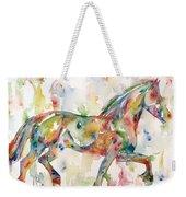 Horse Painting.23 Weekender Tote Bag