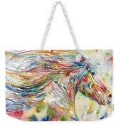 Horse Painting.24 Weekender Tote Bag