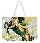 Horse Painting.25 Weekender Tote Bag