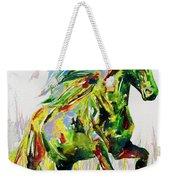Horse Painting.26 Weekender Tote Bag