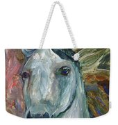 Horse Portrait 103 Weekender Tote Bag