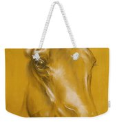 Horse Portrait Weekender Tote Bag by Tamer and Cindy Elsharouni